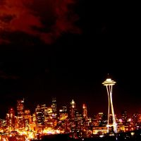 Seattle Washington by JoeFrazer