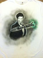 Doctor Who Airbrushed by EnchantedSteel