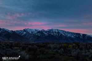 Touching the Wasatch by mjohanson