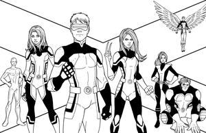All-New X-MEN by JamieFayX