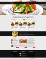 Vegan Food Website by Elad-M