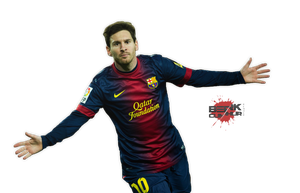 Lionel Messi - Render by suicidemassacre16