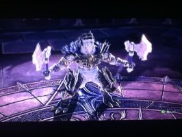 Soul Calibur V, Aeon Calcos wins! by LightTheDragon19