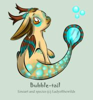Bubble-tail - CUSTOM by ladyofthewilds