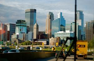 An August Evening in Minneapolis by MNgreen