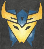 Decepticon Insignia - Dreadwing (TFP) by LadyIronhide