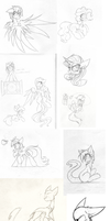 the sketch dump of doom by the--Cloudsmasher