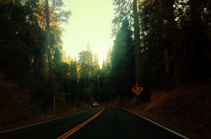 Vintage Mountain Road by TheGerm84
