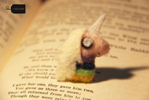 NeedleFelt LadyRainicorn (forsale) by FluffyParcel