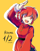 Ranma 1/2 by KanorR