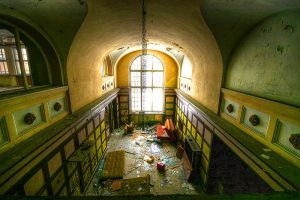 Abandoned hotel 2 by mjagiellicz