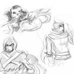 League of Legends sketchdump 2 by CloodSama