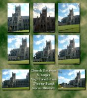 Curch Exterior by Wicasa-stock