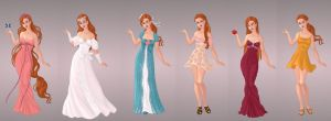 Giselle Wardrobe in Goddess Scene by autumnrose83