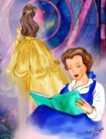 Beauty and the Beast: Belle by khsky