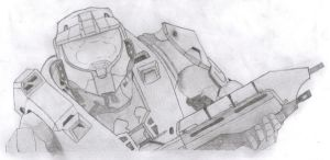 Halo 3 - Master Chief by tro0oy