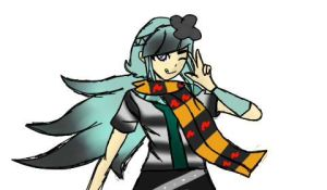 Liesle Became An Annoying Dr2 Character by bachurie