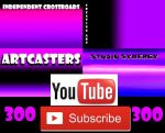 300 Youtube  Subscribers! by PeterPalmiotti