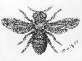 Insect bee by liza23q