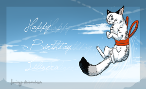 Happy Birthday, Fatima c: by Foxinaya