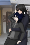 Careful Sasuke by OrihimeTenjho