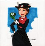 Mary Poppins by dsoloud