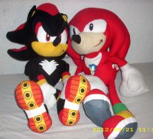 Sonic the Hedgehog Plush Collection by kratosisy