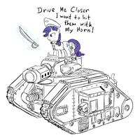 Tank Commisar Rarity by RidingEngenere