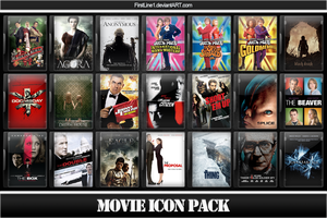 Movie Icon Pack 44 by FirstLine1