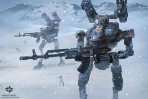'Cyclops' Mech Cold Districts Pattern by Magnum117