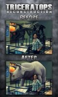 Triceratops Museum Reconstruction by FredtheDinosaurman