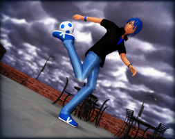 - Freestyle football - by Rolneeq