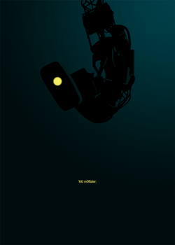 GLaDOS by PUSHAUNE