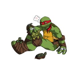 Raph and Turtles by m3ru