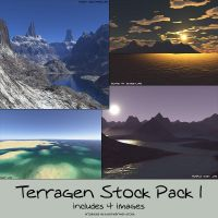 stock pack - terragen 1 by kuschelirmel-stock