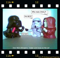 Star Wars Bloopers take 1. by tanekxavier