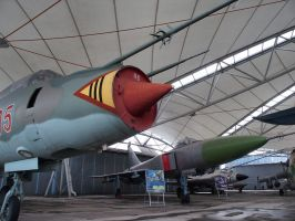 Aviation museum in Kosice, SVK by blackholediver