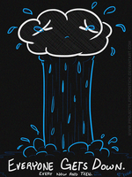 Weep it Out - Depressed RainCloud by ProjectilePogostick