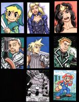 sketch cards febuary by The-Standard