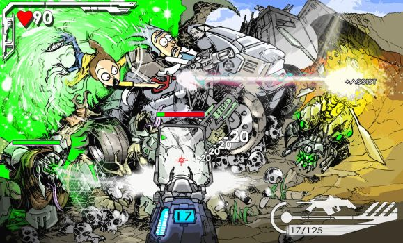 The First Person Shooter Dimension by Destructiconz