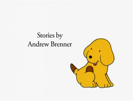 Brenner's name on The Adventures of Spot by Percyfan94