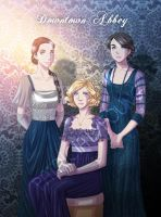 Downton Abbey by patriciaLyfoung