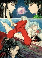 Inuyasha for contest.... by VaniacV