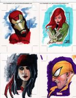 Marvel 70th Sketch Cards 1 by Manji675