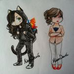 Black Cat and the Jealous Actrice by riceXyummy