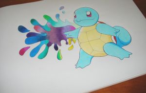 Squirtle by Andrewbellamy