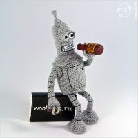 Bender (Futurama) by wooltoys-ru