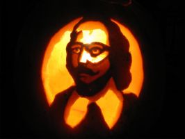 Shakespeare Carved by Stirk-Bostaurus
