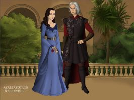 Game of Thrones: Lyanna and Rhaegar by moonprincess22