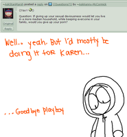 Give up my Playboys for my family? by AskKenny-McCormick